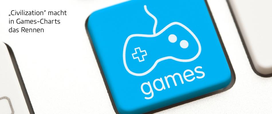 """Games-Charts: """"Civilization"""" macht das Rennen"""