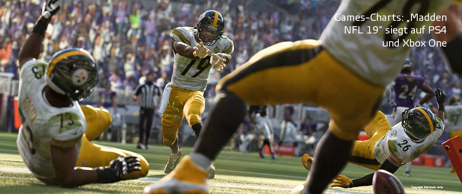Games-Charts Madden NFL 19