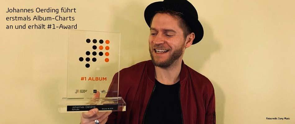 Musik-Charts Johannes Oerding