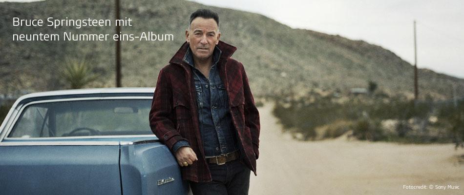 Musik-Charts Bruce Springsteen